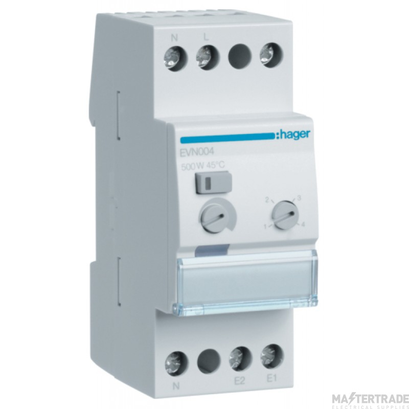 Hager EVN004 Comfort Dimmer Switch 500W