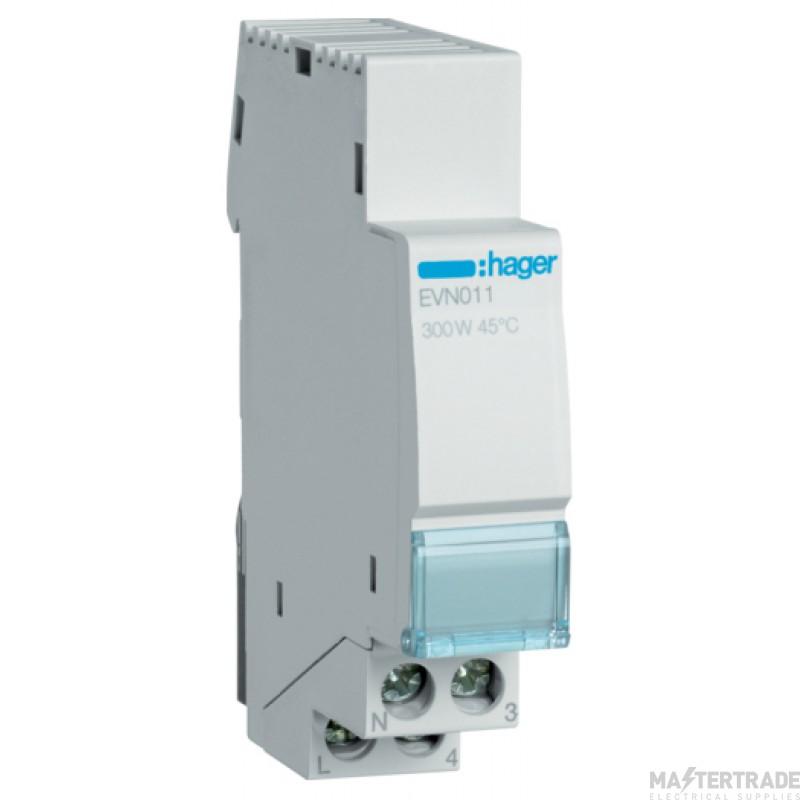 Hager EVN011 Basic Dimmer Switch 300W