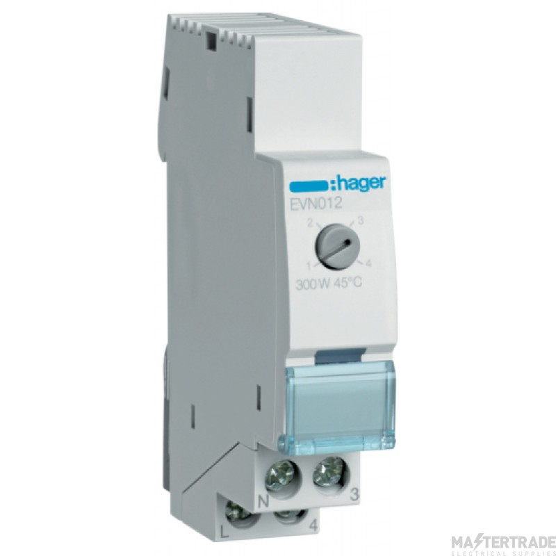 Hager EVN012 Comfort Dimmer Switch 300W