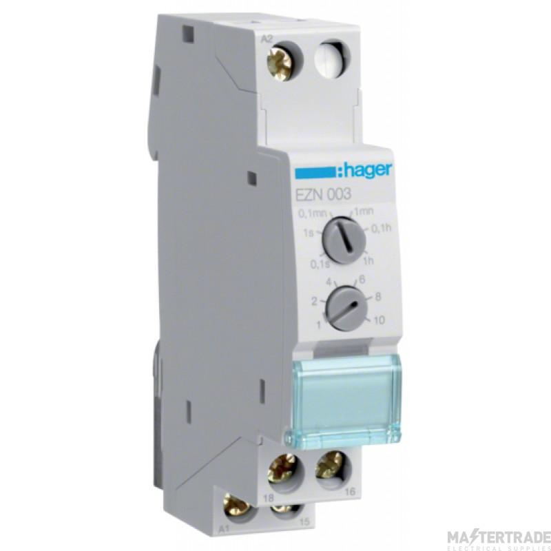 Hager EZN003 Delay Timer Adjustable