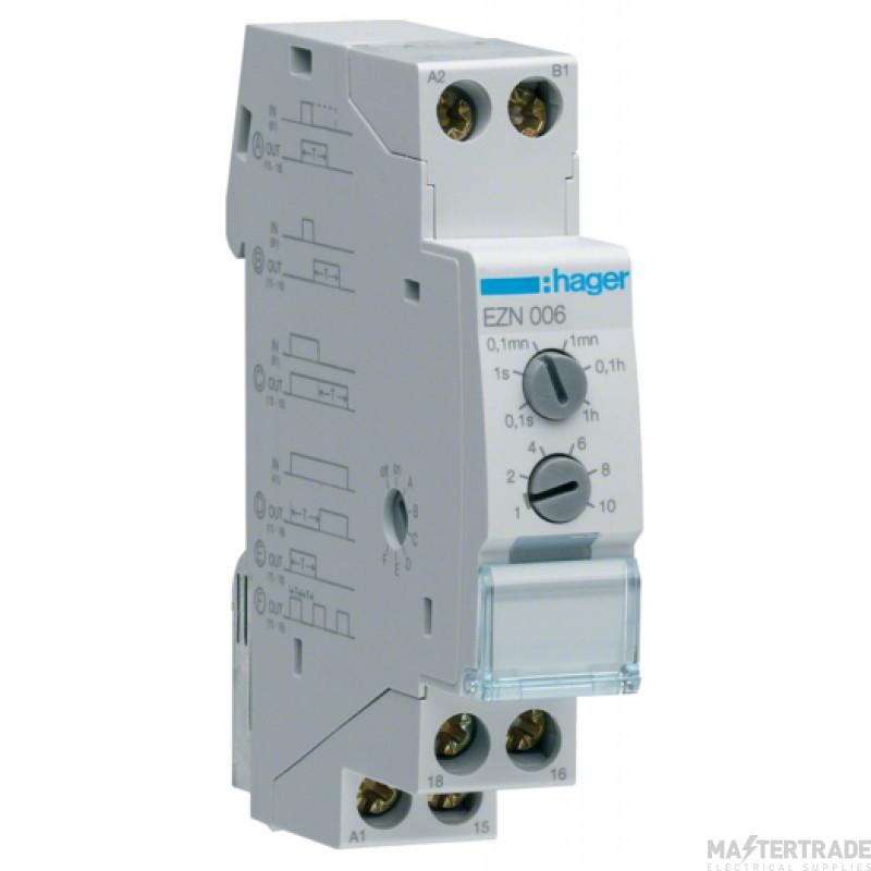 Hager EZN006 Delay Timer Multifunction
