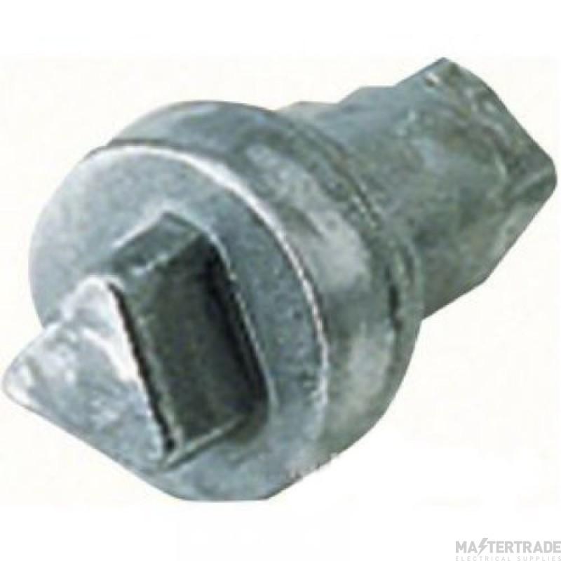 Hager FL94Z Triangular Lock & Key