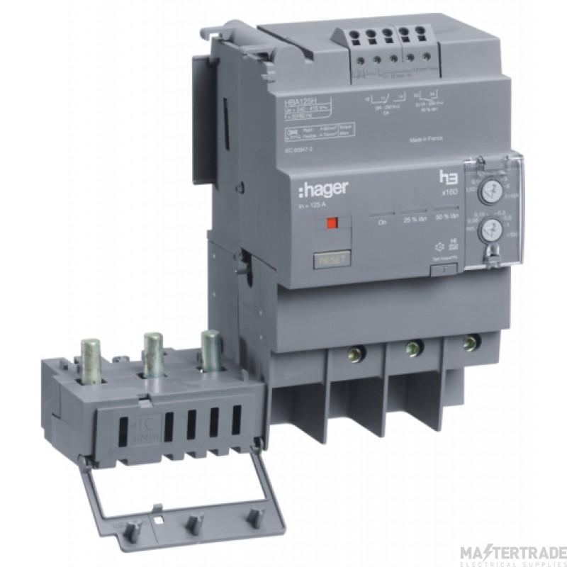 Hager HBA125H RCD TP AddOn 125A30-6000mA