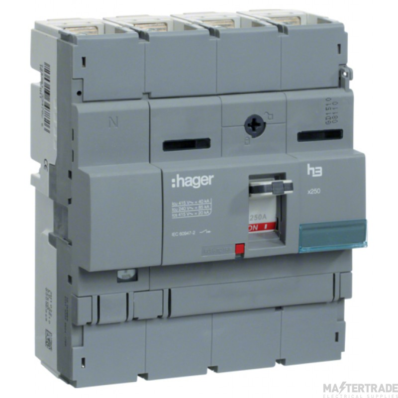 Hager 4P Switch Disconnector 250A HCB251H