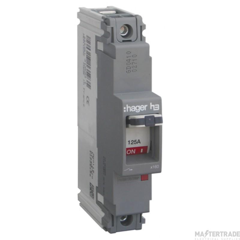 Hager HDA123Z MCCB SP 125A 18kA