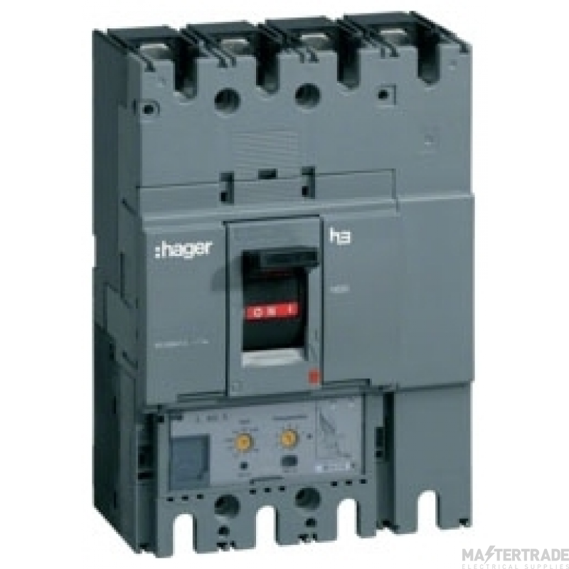 Hager HED401H MCCB H630 4P LSI 400A 70kA