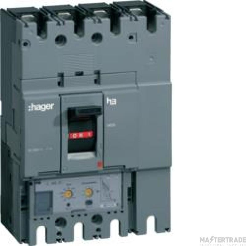 Hager HED631H MCCB H630 4P LSI 630A 70kA