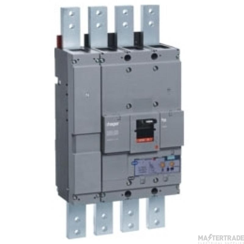 Hager HEF981H MCCB H1600 4P 1250A 70kA