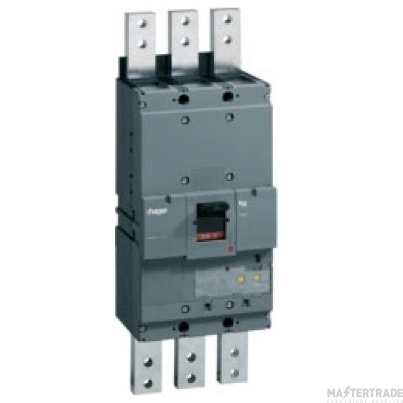 Hager HEF990H MCCB H1600 3P 1600A 70kA
