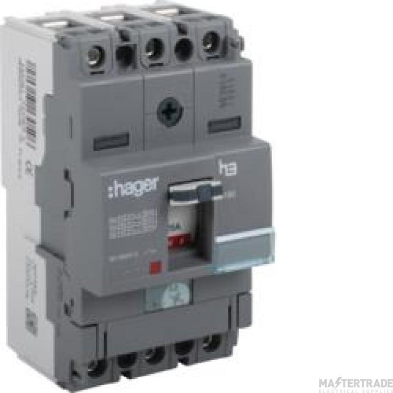 Hager HHA159Z MCCB X160 2P 160A 25kA