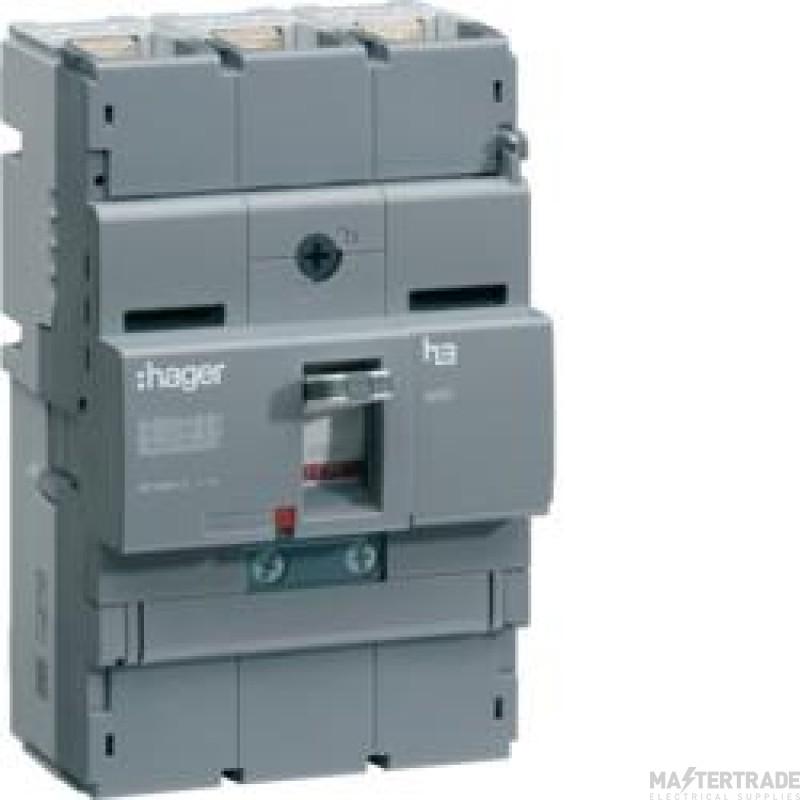 Hager HHB100Z MCCB X250 3P 100A 25kA