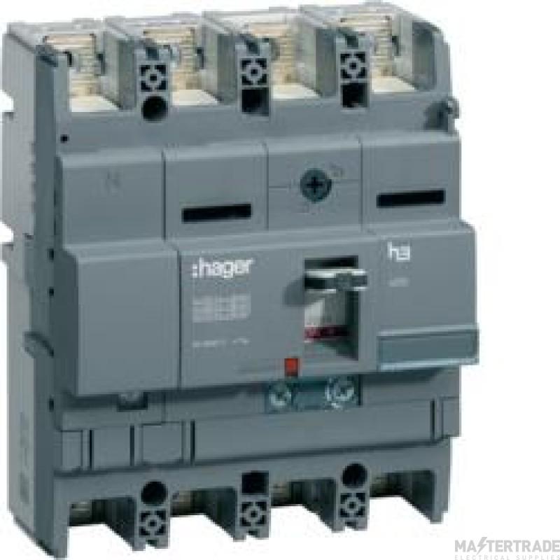 Hager HHB201Z MCCB X250 4P 200A 25kA