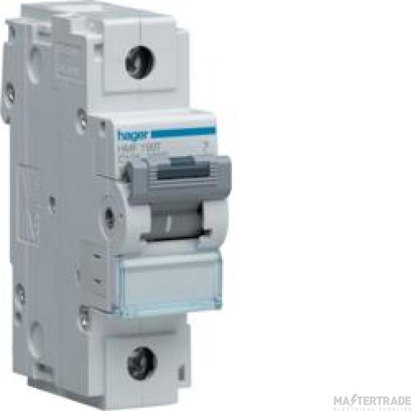 Hager SP Type C MCB 100A 15kA HMC190T