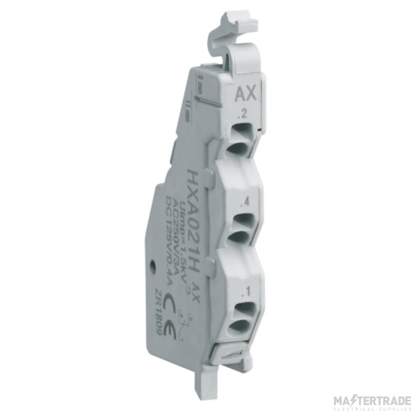 Hager HXA021H Auxiliary Contact 230V