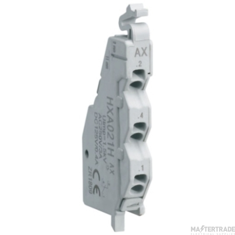 Hager HXA026H Auxiliary Contact 125V AC