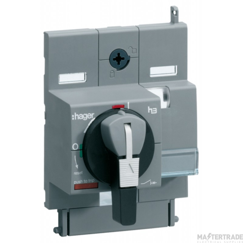Hager HXA030H Direct Rotary Handle