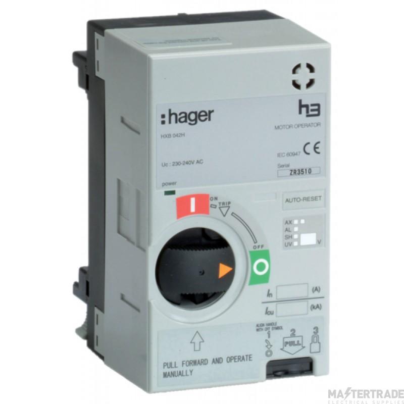 Hager HXB042H Motor Operator 230-240V AC