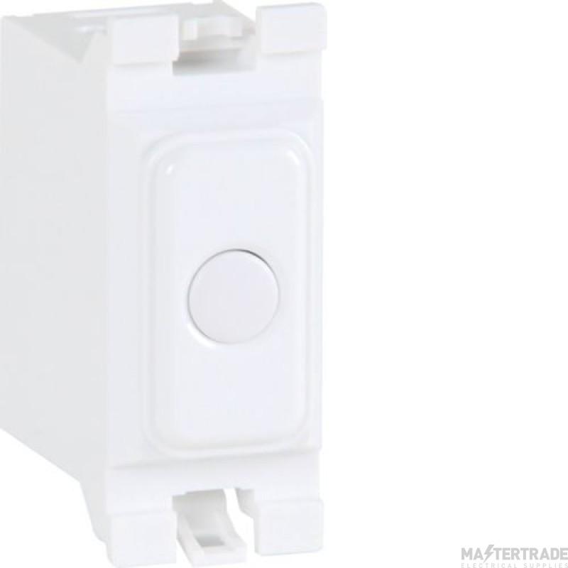 Hager Sollysta Grid Trailing Edge Dimmer Switch WMGSD1T