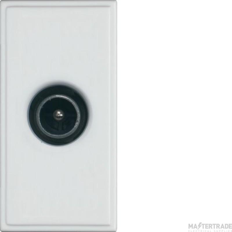 Hager WMMTVM Socket Sgl Male Non Isol