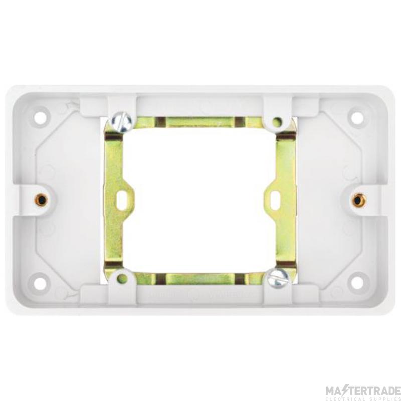 Hager WMPB2/20 Surface Pattress Box