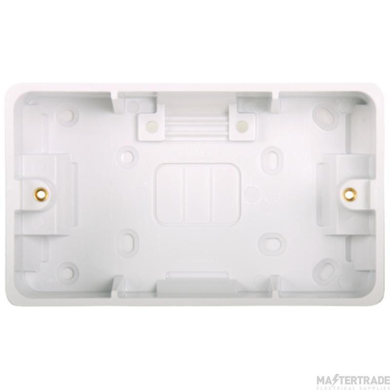 Hager WMPB2/46 Shaver Box 46mm
