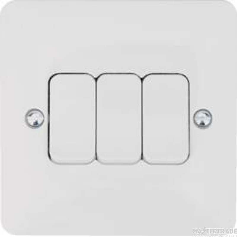 Hager WMPS32 Wall Switch 3G 2Way 10AX