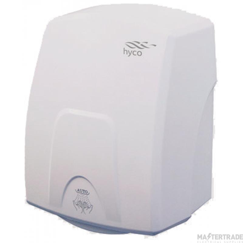 Hyco CTRW Auto Hand Dryer 1.5kW White