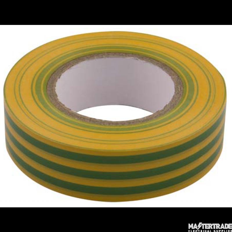 Unicrimp 19mm x 33m Tape - Yellow/Green