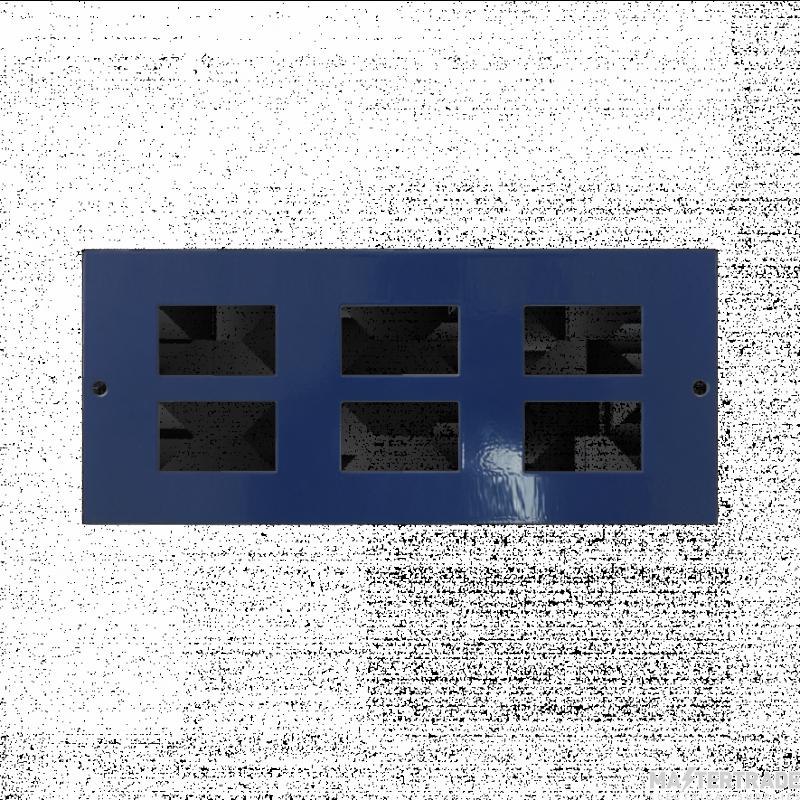 Marco MP3-6D Accessory Plate 6xRJ45 86mm