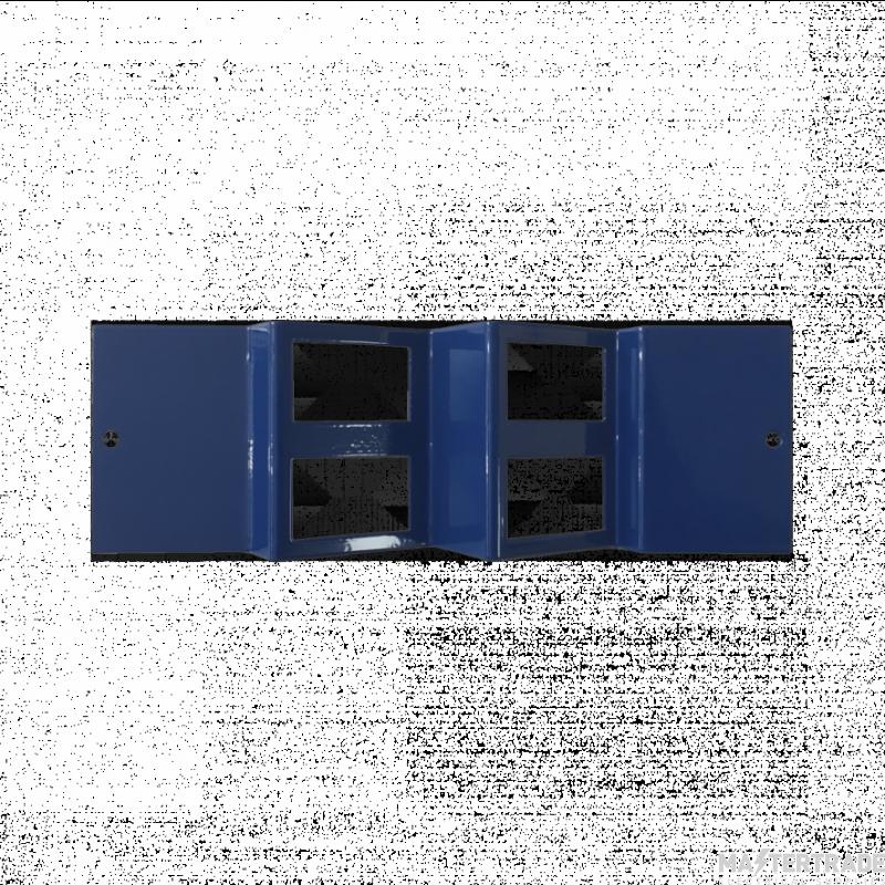 Marco MP4-4DA Accessory Plate Angled 4xRJ45