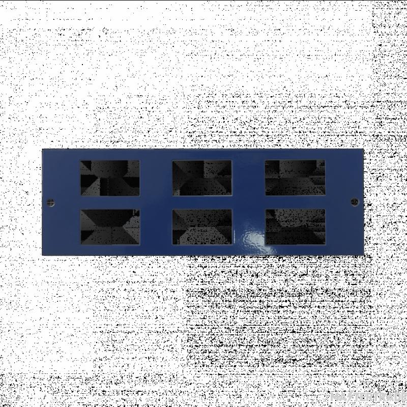 Marco MP4-6D Accessory Plate 6xRJ45 86mm