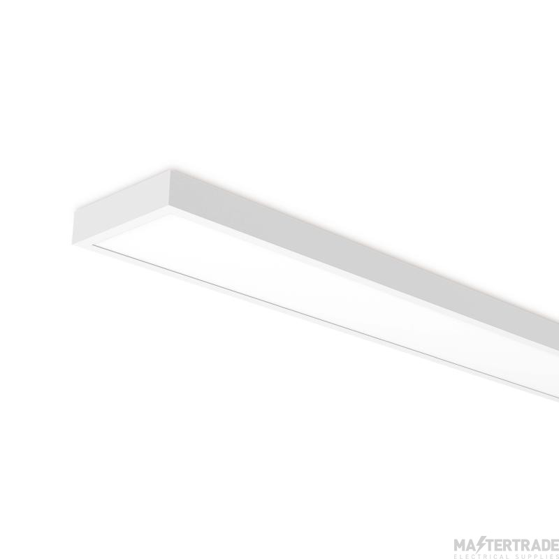 Kosnic KBTN2328LS9-W40 LED 4ft 1255x310mm Surface Modular Switchable 23/28W UGR19 CAT2 Replacement