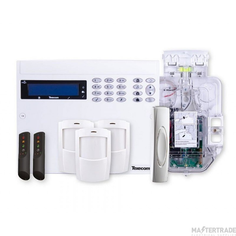 Texecom Ricochet Premier Elite 64W LIVE 32 Zone Wireless Kit KIT-0004