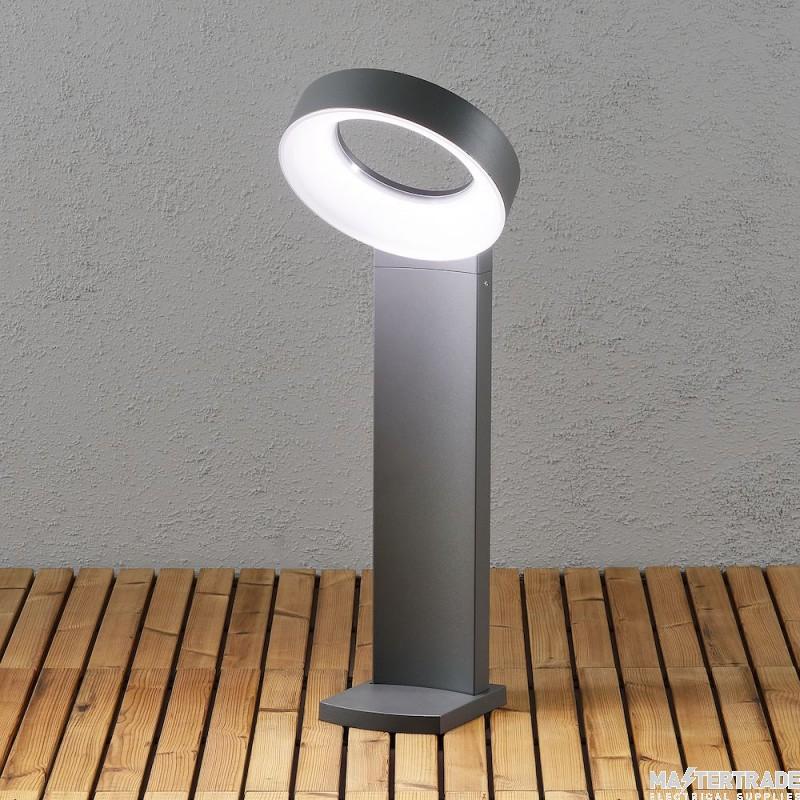 Konstmide 7274-370 Asti Post Light dark grey LED