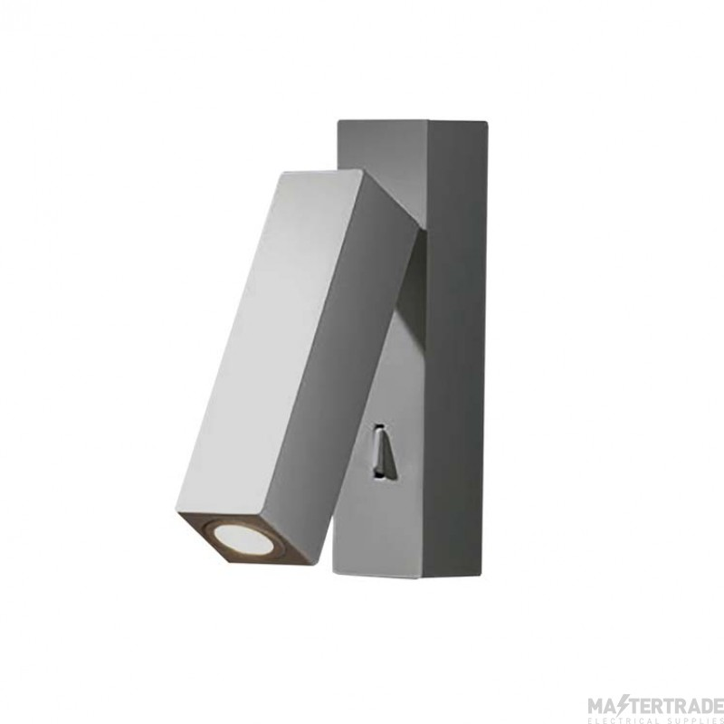 LEDS C4 Wall Fixture Hall 1 X Led 3W  Satin Nickel