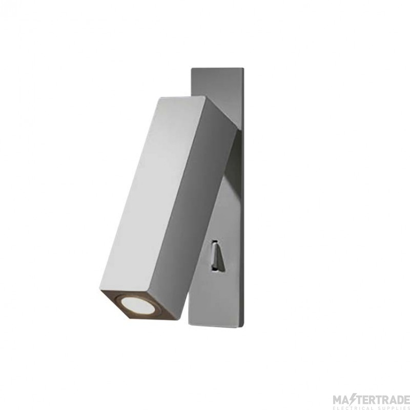 LEDS C4 Wall Recessed Hall 1 X Led 2,3W  Satin Nickel