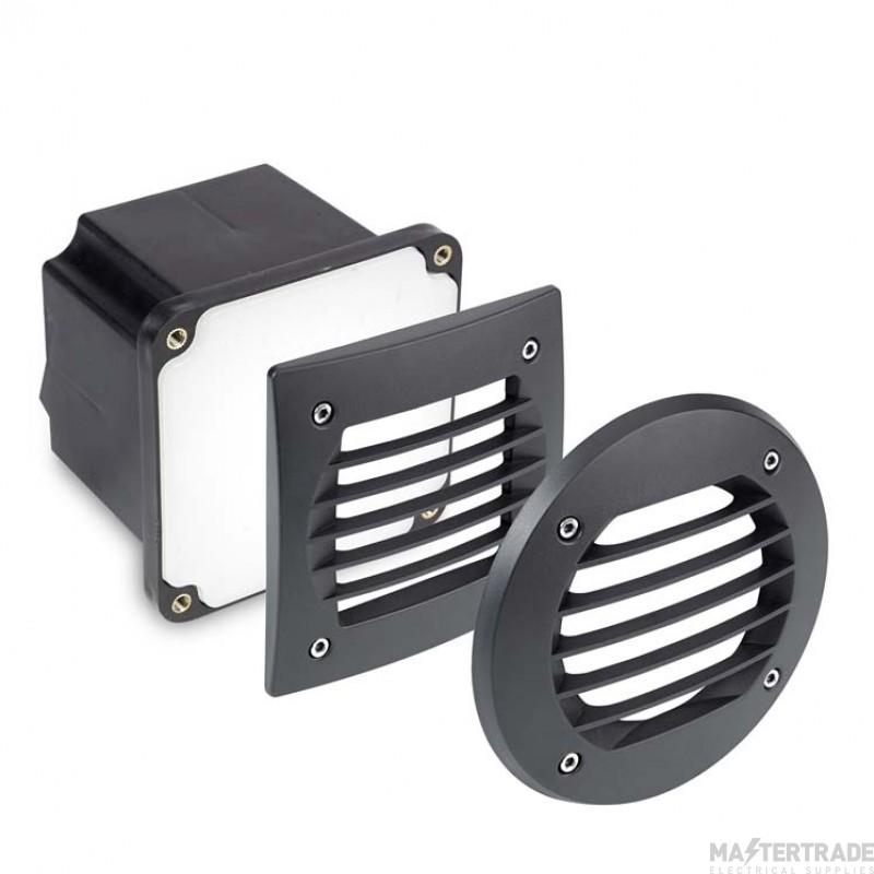 LEDS C4 Wall Recessed Basic 20 X Led 1,5W  Black