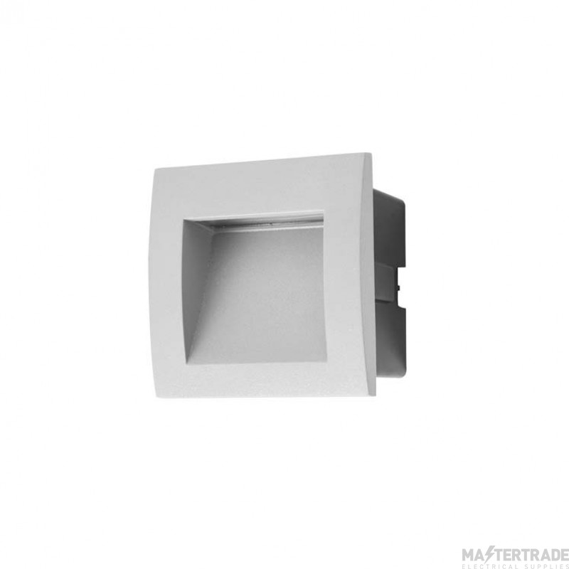 LEDS C4 Wall Fixture Face 15 X Led 1 W  Grey