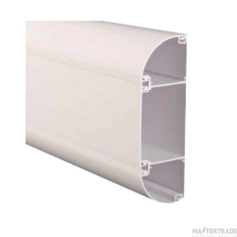 Marco ME3 Elite3 Dado Perimeter Trunking 175x60mm White 1=3m Length