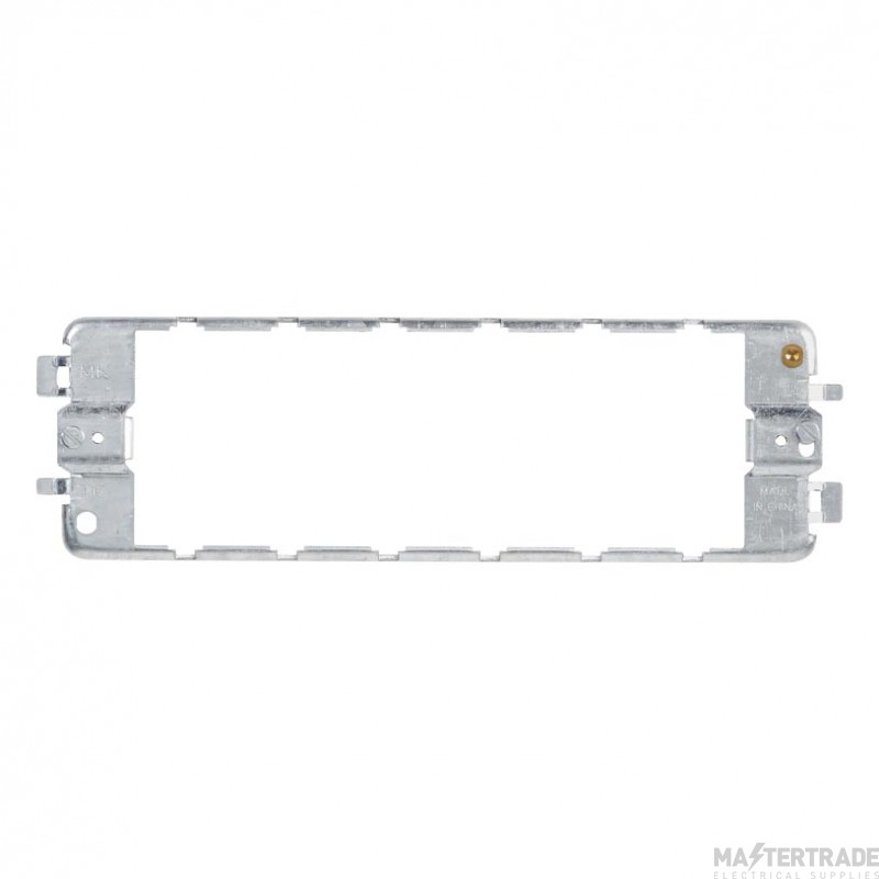 MK Grid Plus 3-Gang 6-Module Frame for Modular Front Plates K3706