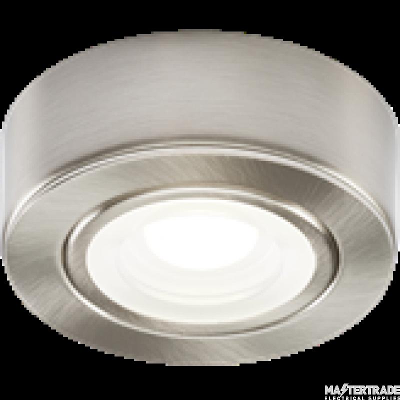 Knightsbridge CABBCCW LED Cabinet Light Brushed Chrome