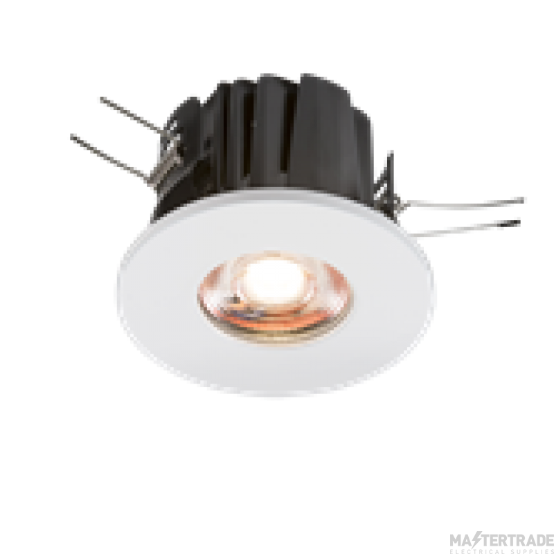 Knightsbridge VFRIC8WW IP65 Valknight Fixed Fire Rated Downlight 3000K White