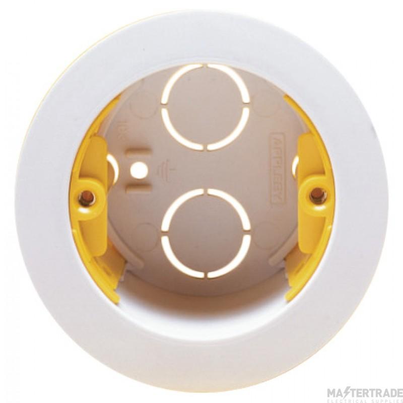 Appleby SB639 Circular Dry Lining Box 35mm