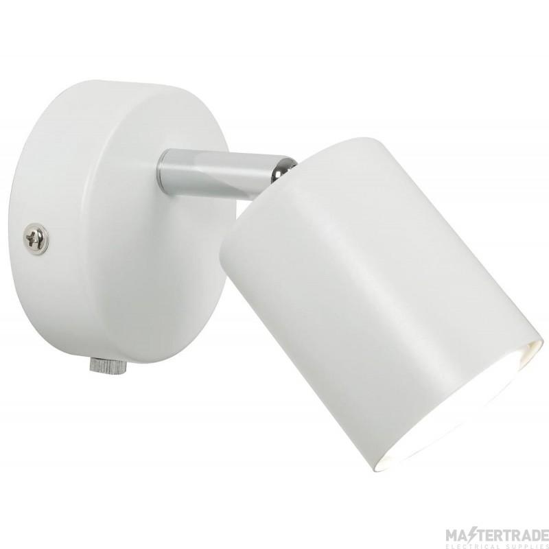 Nordlux 72091001 Explore LED Wall Light White 2700K