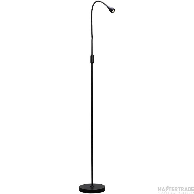 Nordlux 75594003 Mento LED Floor Lamp Black 3000K