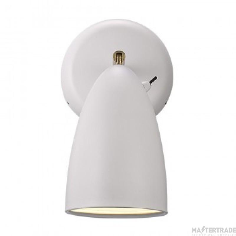 Nordlux 77271001 Nexus 10 1 Light Wall Light In White