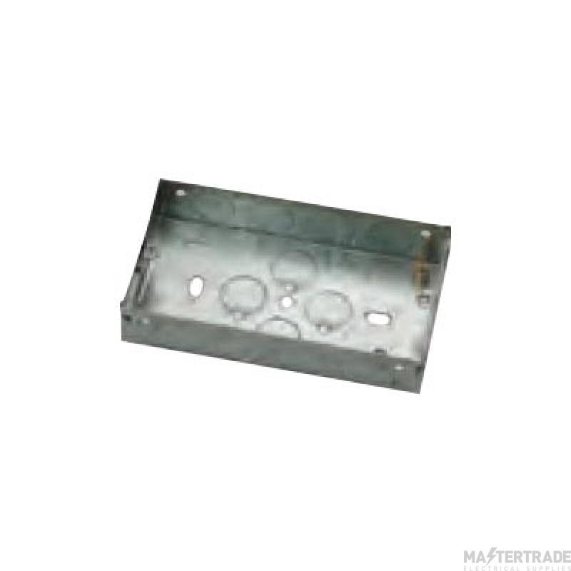Niglon E12 2Gang Switch&Socket Box 25mm