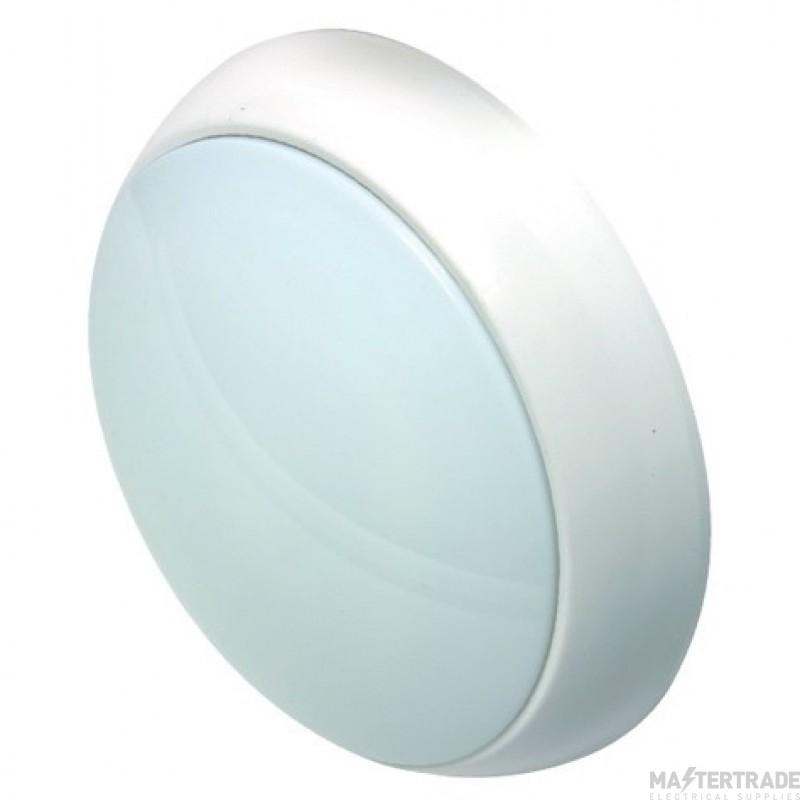 NVC Portland 3hrM LED Bulkhead White NPO15/WH/O/M3/840-850