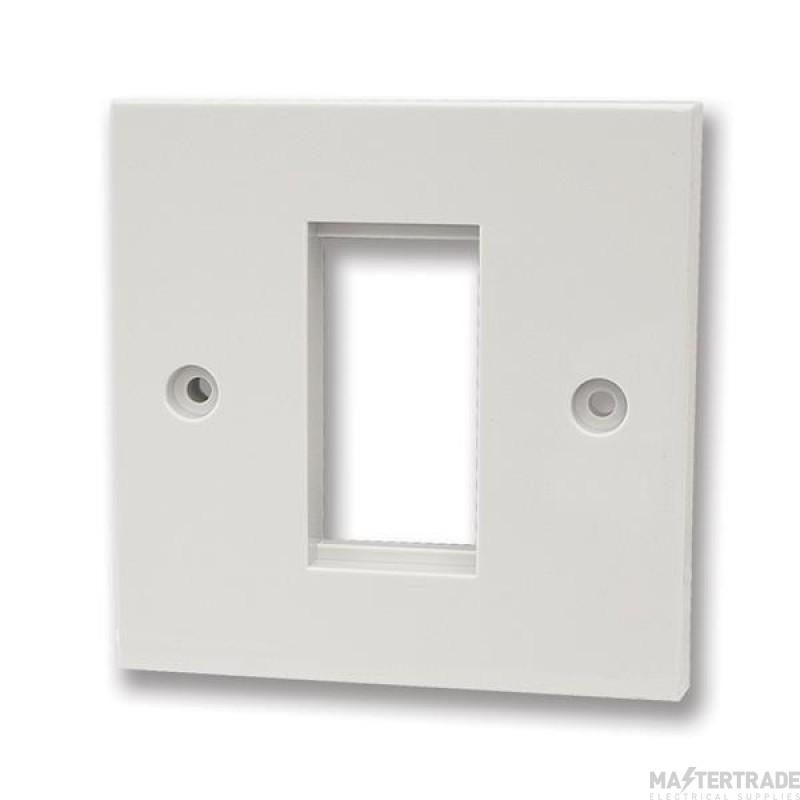 Face plate, 1 module