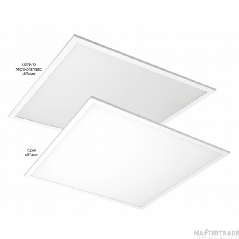 NVC Sterling NST/UGR19/66/840 UGR19 Low Glare TPA Rated LED Panel 600X600 4000K 34W